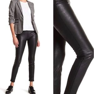Blank NYC faux leather pull on leggings BLACK